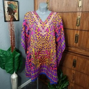 Other - Printed Tunic / Cover Up One Size